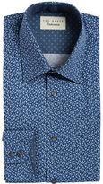Ted Baker Leaf-Print Dress Shirt