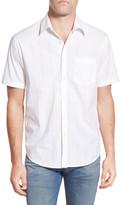 James Campbell Yesler Regular Fit Checker Short Sleeve Sport Shirt