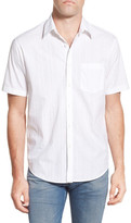 James Campbell &Yesler& Regular Fit Plaid Short Sleeve Sport Shirt