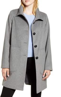 Kristen Blake Studio Collection Wool Blend Walking Coat