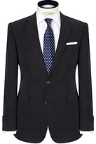 John Lewis Silk And Linen Suit Jacket, Navy