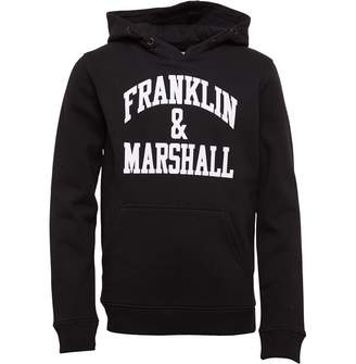 Franklin & Marshall Junior Boys Hoodie Black