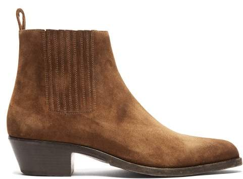 59bbbed7dbe Dakota Suede Chelsea Boots - Mens - Brown