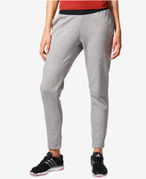 adidas Heathered Tapered Stadium Pants