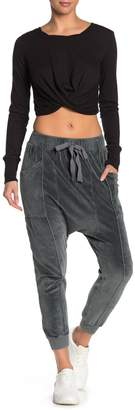 Free People In The Slick Of It Velour Pants