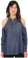 Nicole Miller Chambray Leigh Top