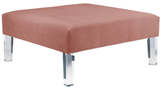 Skyline Furniture Square Cocktail Ottoman