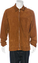 Zegna Sport Leather Zip Jacket