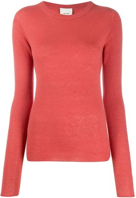 Alysi Slim-Fit Fine Knit Jumper