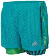 adidas Double Dutch Pull-On Shorts - Preschool Girls 4-6x