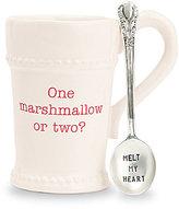 Mud Pie Holiday Marshmallow Mug with Spoon