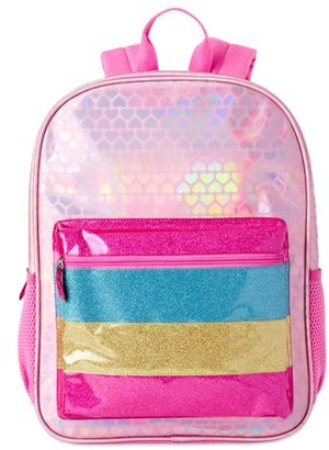 Wonder Nation Metallic Stripe Backpack