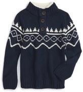 Pumpkin Patch Knit Sweater (Toddler Boys & Little Boys)