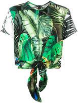 Max Mara floral print top - women - Silk - 40