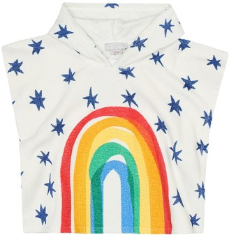 Stella McCartney Kids Printed cotton-terry cover-up