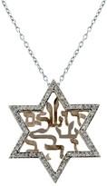 Effy Jewelry 14K 2-Tone Gold Jerusalem of Gold Diamond Pendant