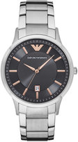 Emporio Armani Men's Renato Stainless Steel Bracelet Watch 43mm AR2514