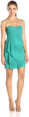 Minuet Women's Strapless Grecian Draped Dress
