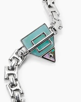 White House Black Market Abalone Link Bracelet