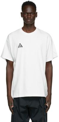 Nike ACG White Logo T-Shirt