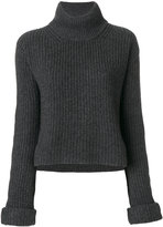 Forte Forte roll-neck ribbed pullover