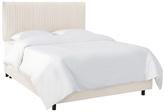 Skyline Furniture Pleated Bed