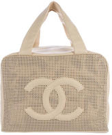 Chanel Perforated Bowler Bag