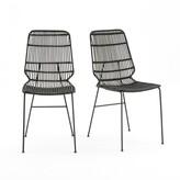 La Redoute La MALU Kubu Wicker Chairs (Set of 2)