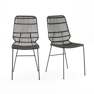 La Redoute Interieurs MALU Kubu Wicker Chairs (Set of 2)