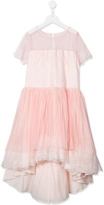 Aletta TEEN short sleeve layered dress