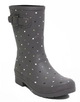 Chooka Women's Downpour Closed Toe Mid-Calf Rain Boot Cold Weather