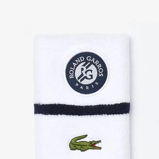 Lacoste Men's SPORT Roland Garros Wristbands