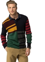 Tommy Hilfiger Edition Colorblock Long-Sleeve Polo