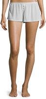 Eberjey Baxter Lounge Shorts, Oyster Gray