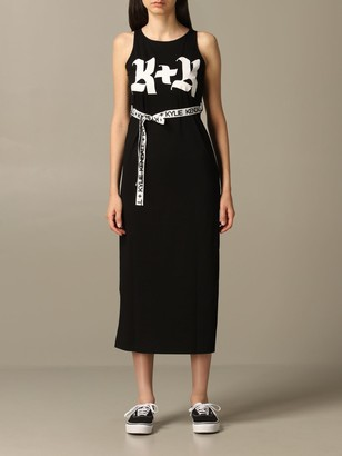 KENDALL + KYLIE Dress With Belt And Logo