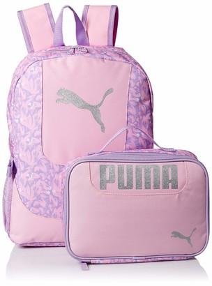 Puma Girls' Big Lunch Box Backpack Combo