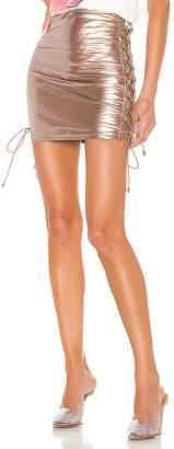 superdown Arabella Lace Up Skirt