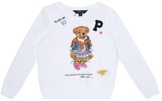 Polo Ralph Lauren Printed cotton-blend sweatshirt