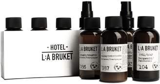 L:A Bruket - Travel Kit (Soap, Body Lotion, Shampoo & Conditioner)