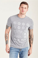 True Religion Throwback Logo Mens Tee