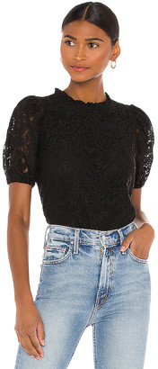 1 STATE Puff Lace Top