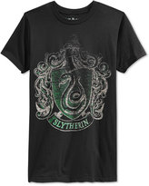 Bioworld Men's Harry Potter Slytherin Crest T-Shirt
