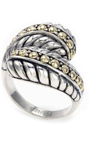 Effy Jewelry Effy 925 Classic Sterling Silver and 18K Yellow Gold Ring