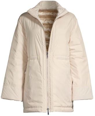 Lafayette 148 New York Alpine Outerwear Reversible Puffer Coat