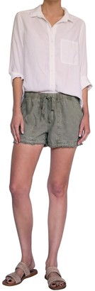 Cloth & Stone Fray Hem Easy Pocket Shorts