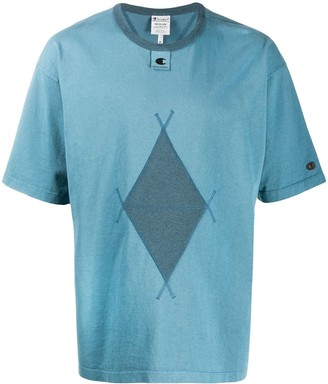 Champion Argyle Diamond Print T-Shirt