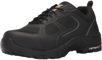 Carhartt Men's CMO3251 Men's Lightweight Steel Toe Low Black Work Hiker