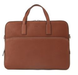 HUGO BOSS Document case in grained leather