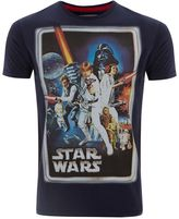 Fabric Flavours Men`s Star Wars New Hope Classic Poster T-shirt