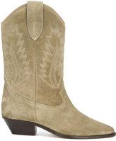 Etoile Isabel Marant Étoile 'Dallin' cowboy boots - women - Leather/Calf Suede - 36